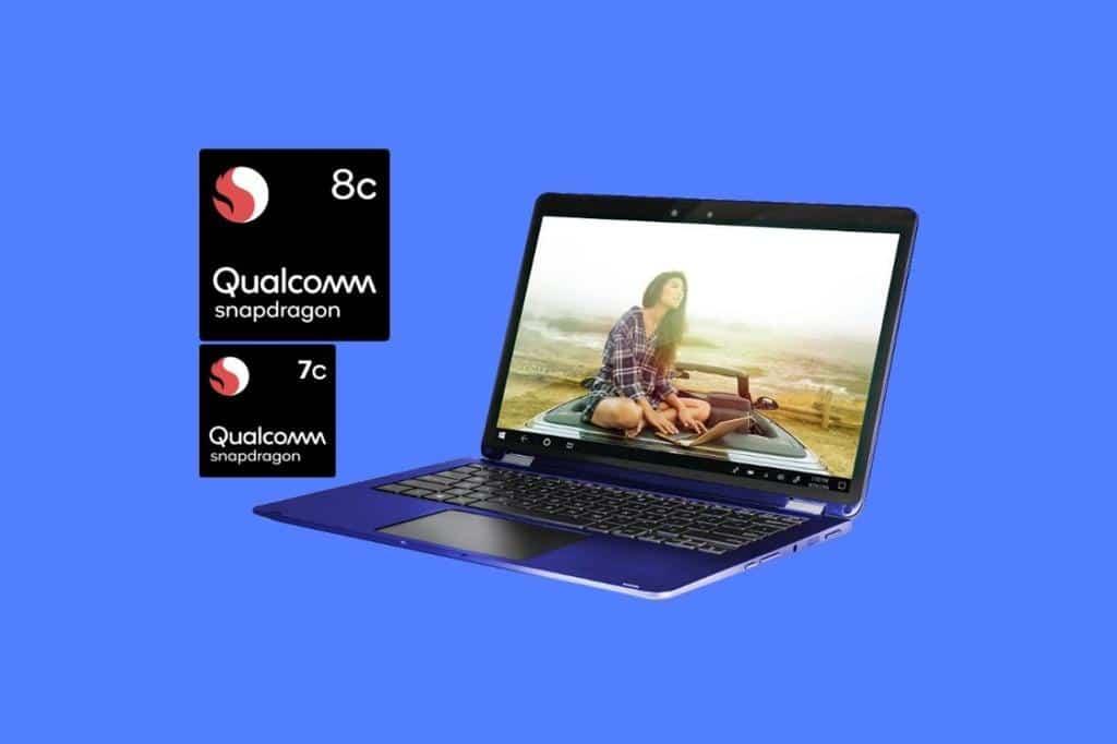 qualcomm processeurs pc ultraportable snapdragon 7c 8c - Blog SFAM