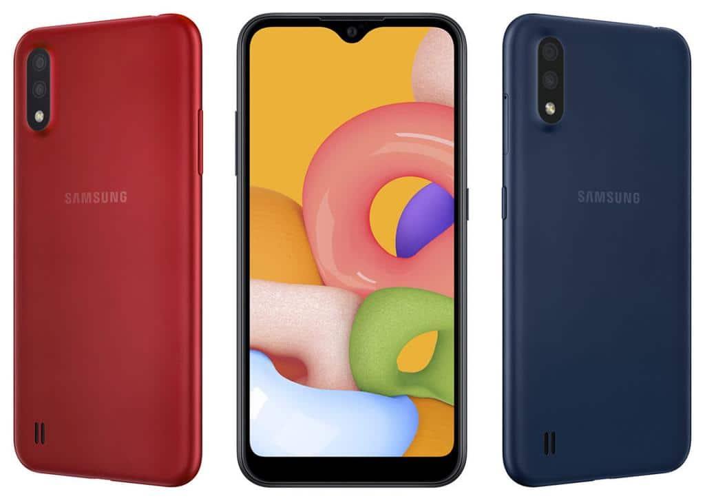 smartphone galaxy a01 samsung entree gamme - Blog SFAM