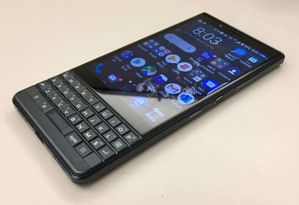 blackberry key2 le meilleur smartphone double sim - Blog SFAM