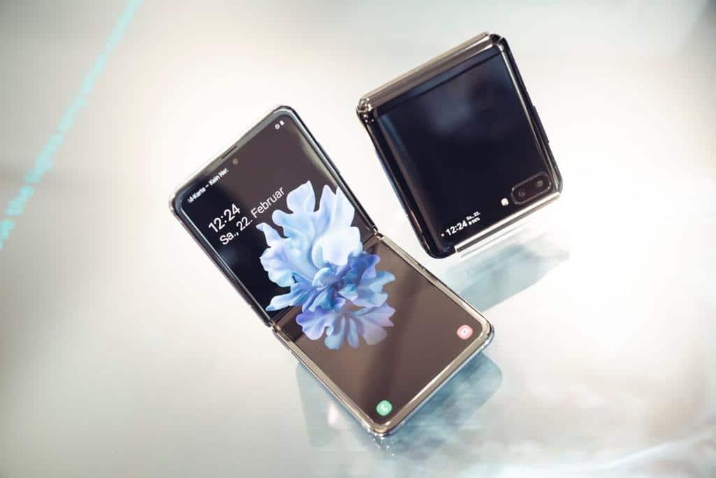 galaxy z flip samsung smartphone pliable - Blog SFAM
