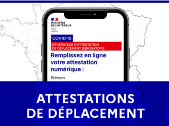 nouvelles attestations deplacement telecharger - Celside Magazine