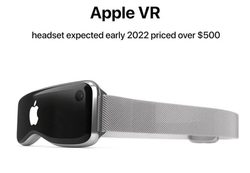 apple sortir casque realite virtuelle - Celside Magazine